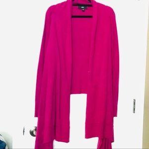 Mossimo Women's drape/long front cardigan Sz L/XL